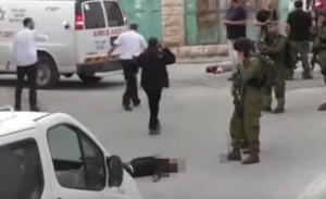 החייל יורה במחבל מתוך סרט האירוע