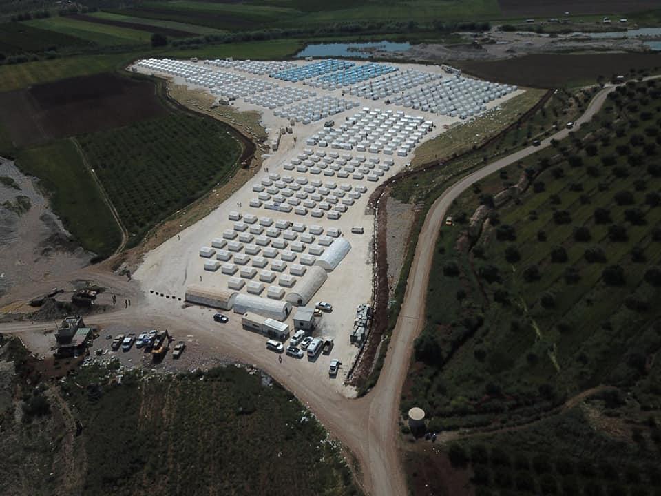 מחנה טורקי לגי'האדיסטים לפני ישוב מחדש בעפרין